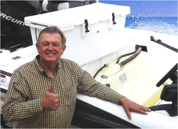 Time on the water means a lot to Pryce Richards, who credits Moeller Customer Service with award-winning performance.