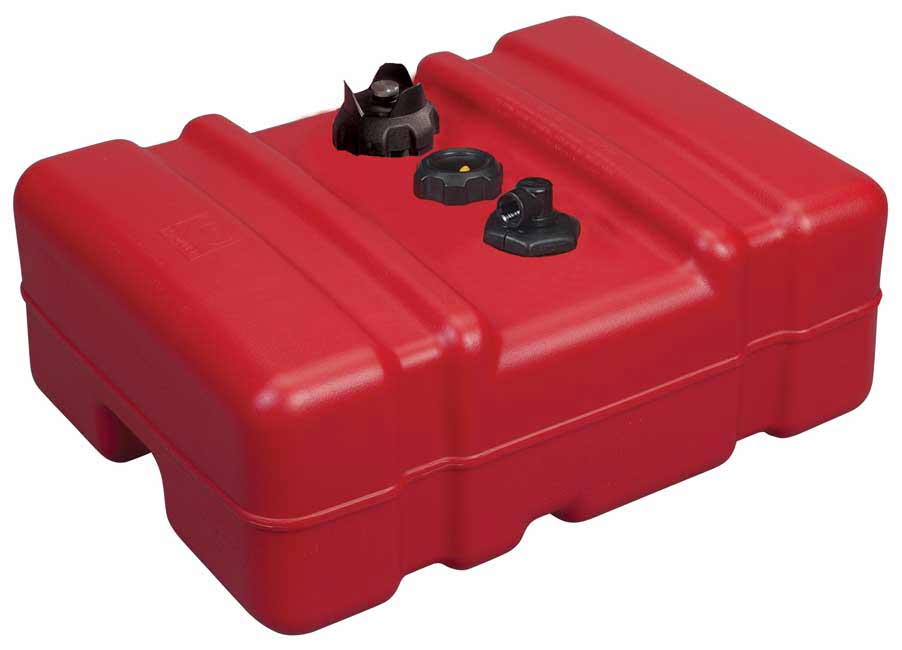 12 gallon low profile portable fuel tank for Gas tanks for outboard motors